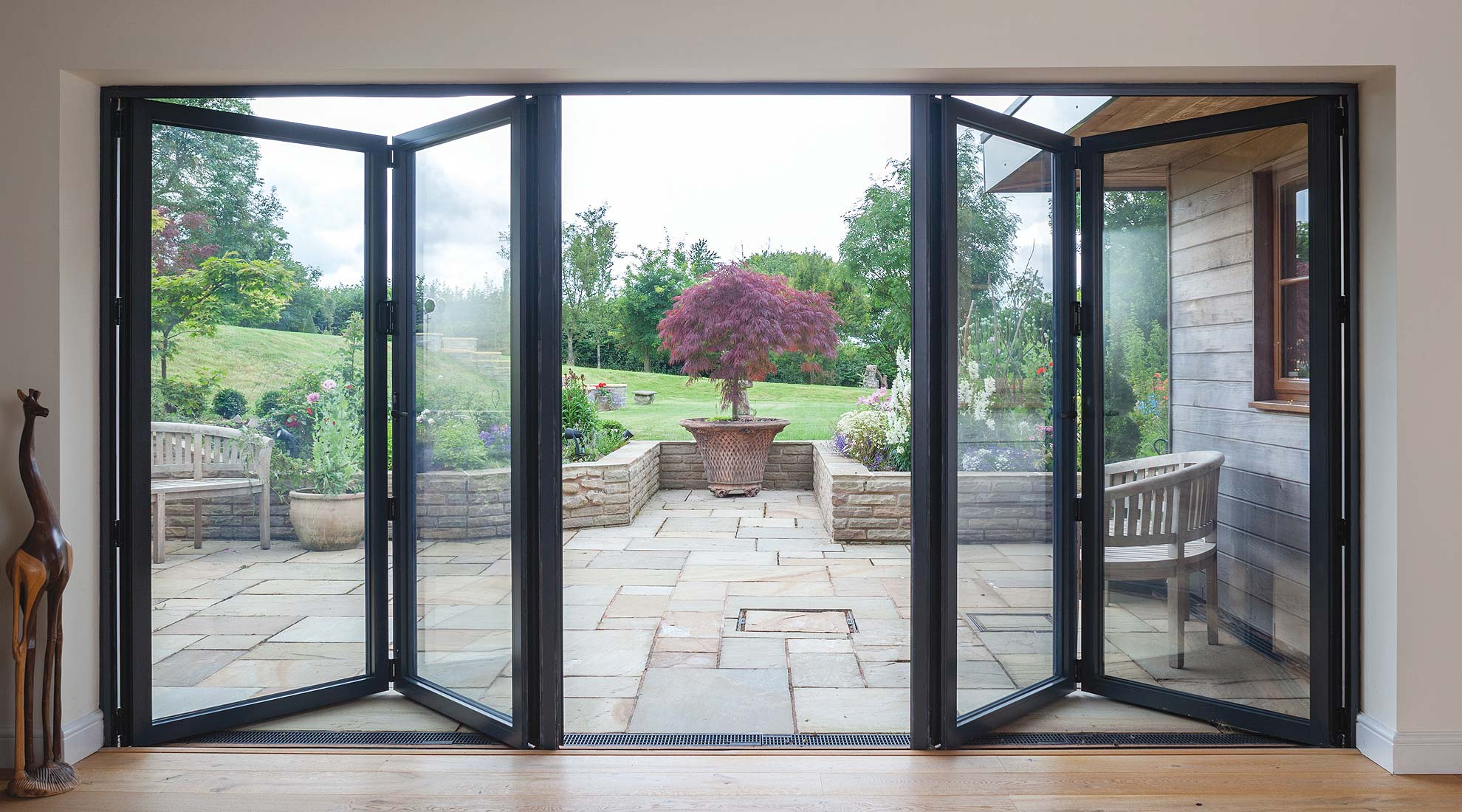 image of smarts visofold 6000 multifolding door