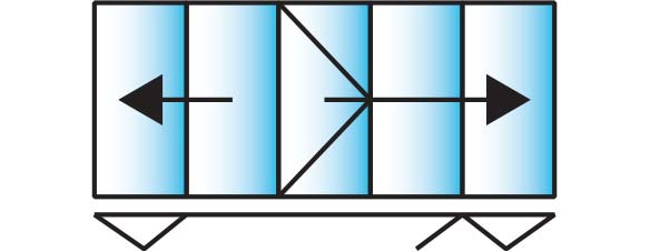 image of a 5 pane configuration for smarts visofold