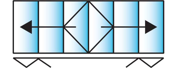 image of a 6 pane configuration for smarts visofold
