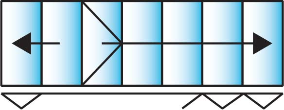 image of a 7 pane configuration for smarts visofold