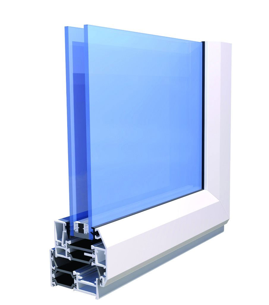 technical specification image for alitherm 300 windows