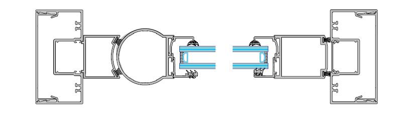 frame specification image of commercial shopline system