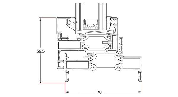 technical frame specification image for smarts alitherm 300