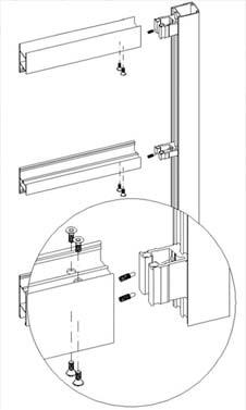 diagram showing locking mechanisms on secure shopline system