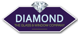 Diamond Glass & Windows Logo