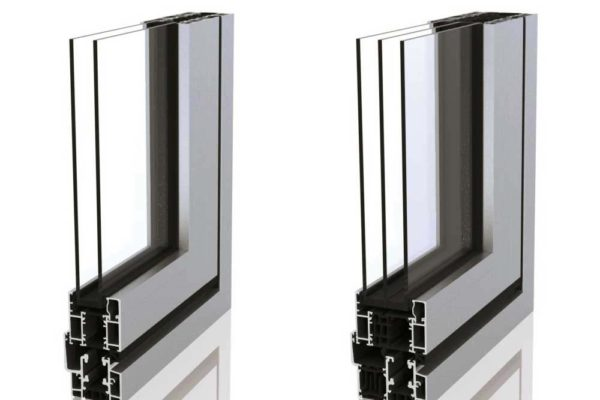 SF55 Sunflex Bi-folding Doors Cut-out Profile