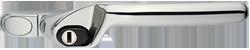 crank handle chrome cutout