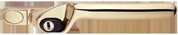 crank handle gold cutout